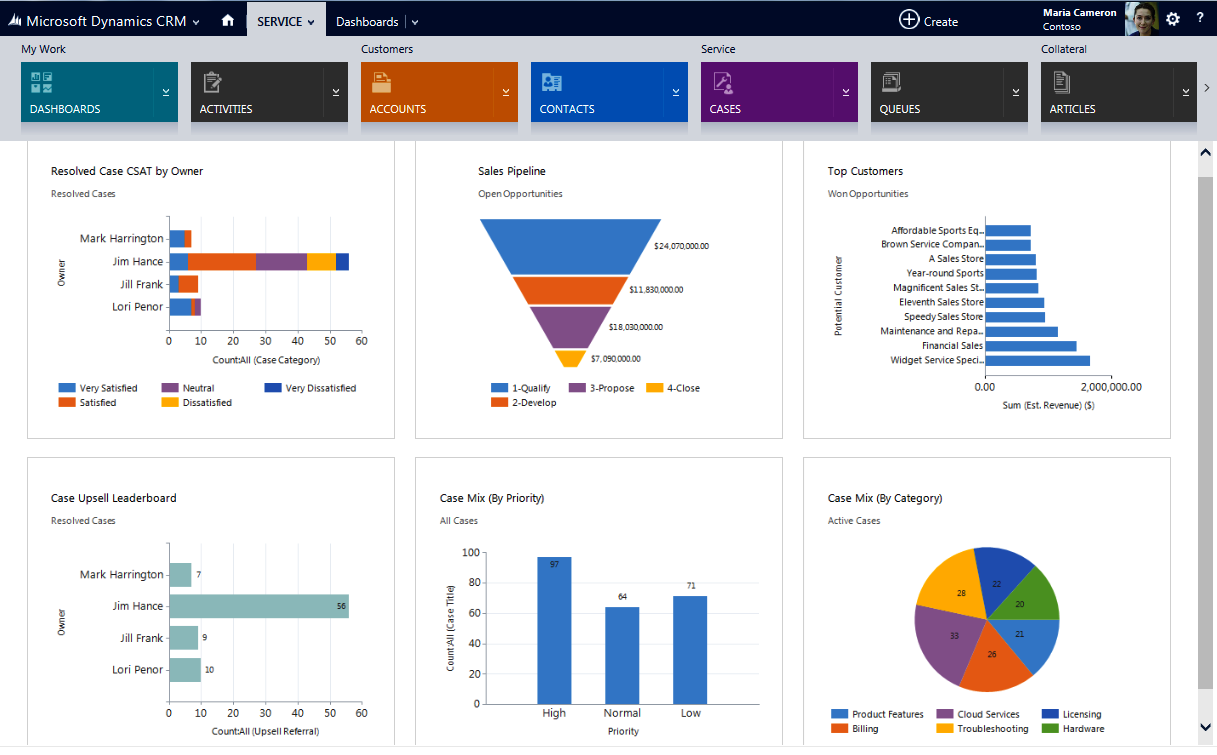 Dynamics crm Software Screenshot 1