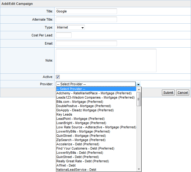 Velocify CRM Software Screenshot 4